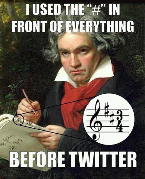 beethoven hashtag